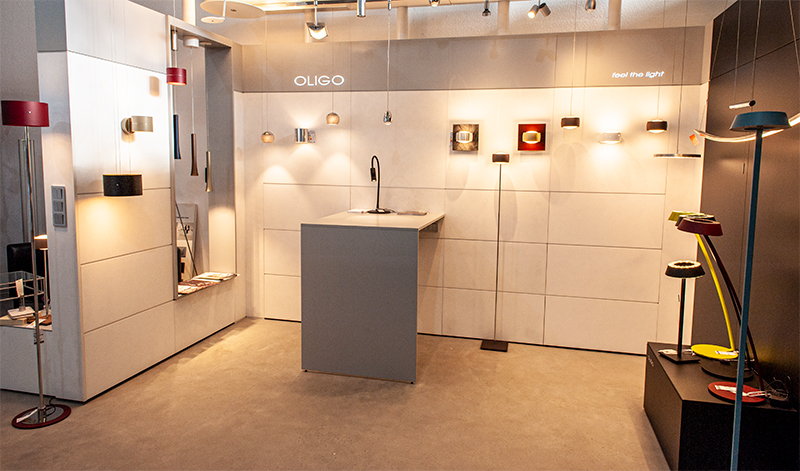 Oligo Design Lampen bei Elektro Müller in Grünstadt