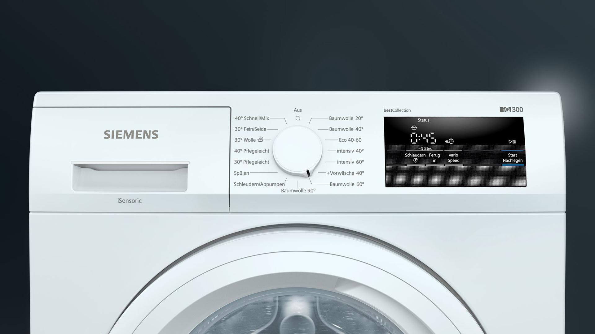 Angebot Siemens Waschmaschine-A1