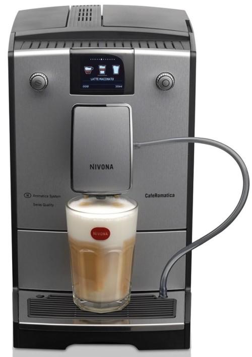 Nivona NICR CafeRomatica 769 Kaffeevollautomat, Silber Line