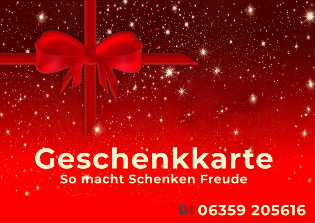 Geschenkkarte Elektro Müller
